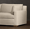 6' Belgian Track Arm Upholstered Sofa