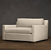 5' Belgian Track Arm Upholstered Sofa