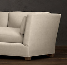 10' Belgian Shelter Arm Upholstered Sofa