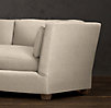 9' Belgian Shelter Arm Upholstered Sofa