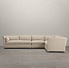 Belgian Shelter Arm Upholstered Right-Arm L-Sectional