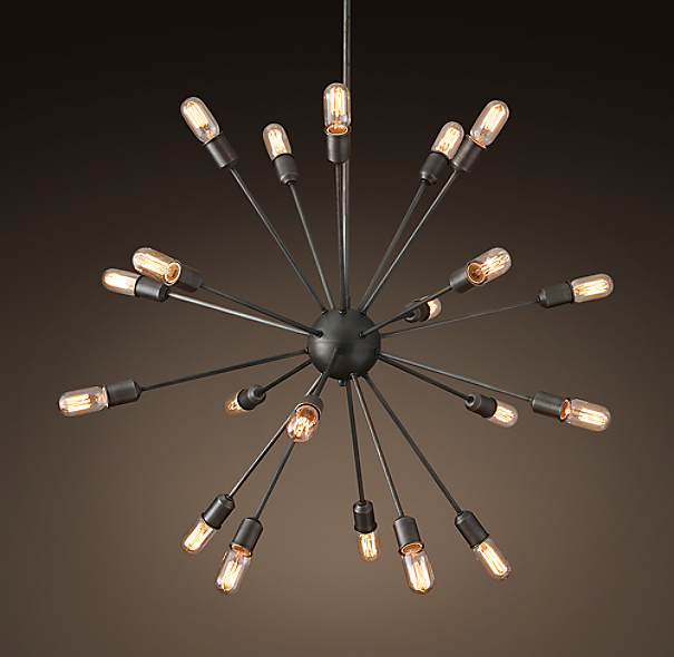sputnik filament chandelier 40. Black Bedroom Furniture Sets. Home Design Ideas
