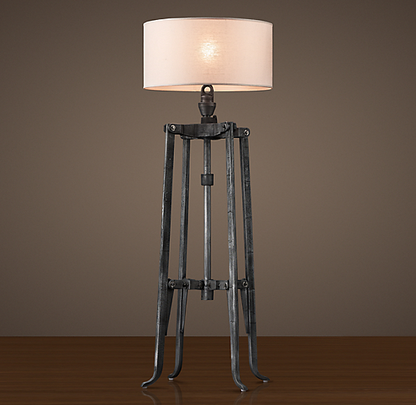 Belgian Industrial Mixer Floor Lamp