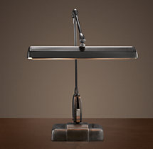 1950s Swedish Architect's Task Table Lamp