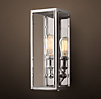Union Filament Narrow Sconce Clear Glass