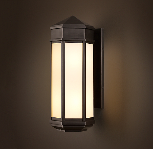 Hexagonal Sconce Small