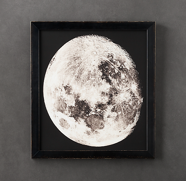 1896 Moon Photogravure Print 1