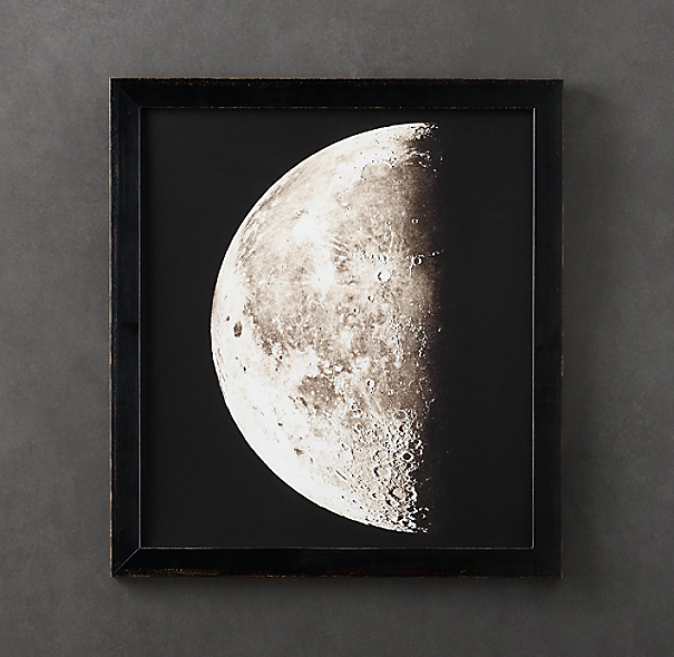 1896 Moon Photogravure Print 3