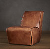 Bruno Lounge Chair Leather