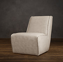 Bruno Lounge Chair Upholstered