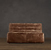 "54"" Chelsea Leather Sofa"