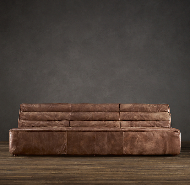 6' Chelsea Leather Sofa