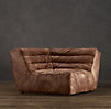 Chelsea Leather Square Corner Chair