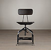 Vintage Toledo Dining Chair Distressed Black