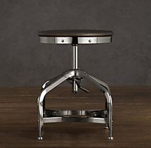 Vintage Toledo Dining Stool Chrome
