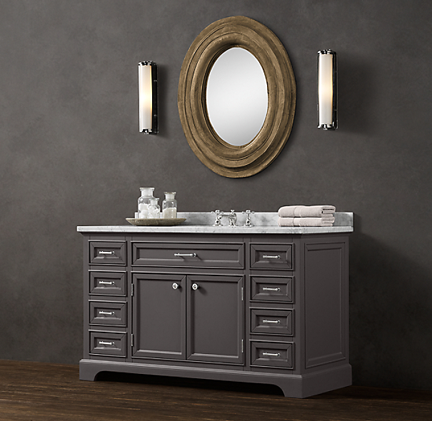 Kent Extra-Wide Single Vanity Sink