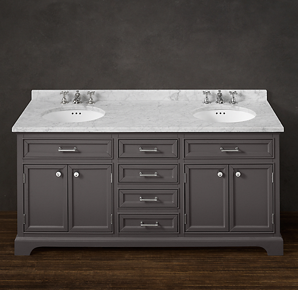 Kent Double Vanity Sink