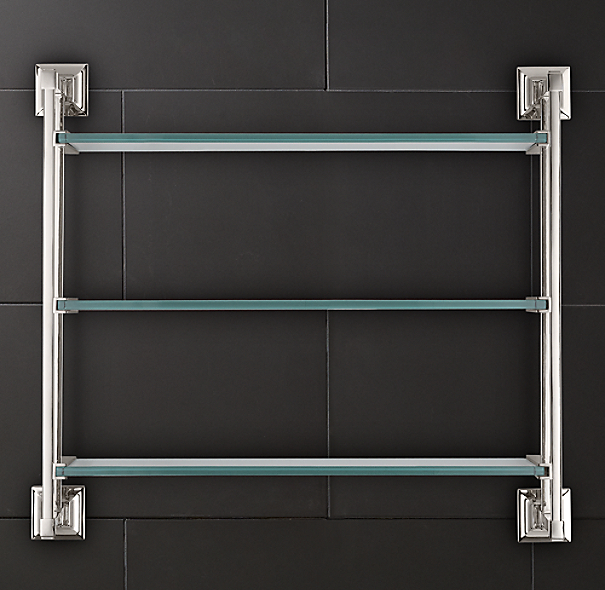Dillon Triple Glass Shelf