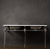 Gramercy Double Glass Washstand Base