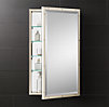 Rivet Medicine Cabinet Polished Nickel