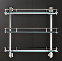 Lugarno Triple Shelf