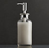 Pharmacy Soap Dispenser Clear Glass