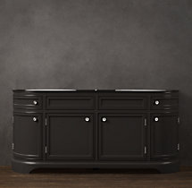 Odéon Double Vanity Sink Base