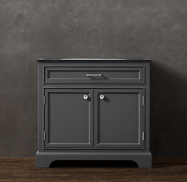 Kent Single Vanity Sink Base