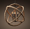 Rope Planetarium Chandelier Medium