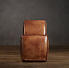 Bruno Leather Dining Chair Narrow
