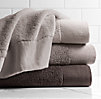 Linen-Bordered 650-Gram Turkish Towels Mist Collection