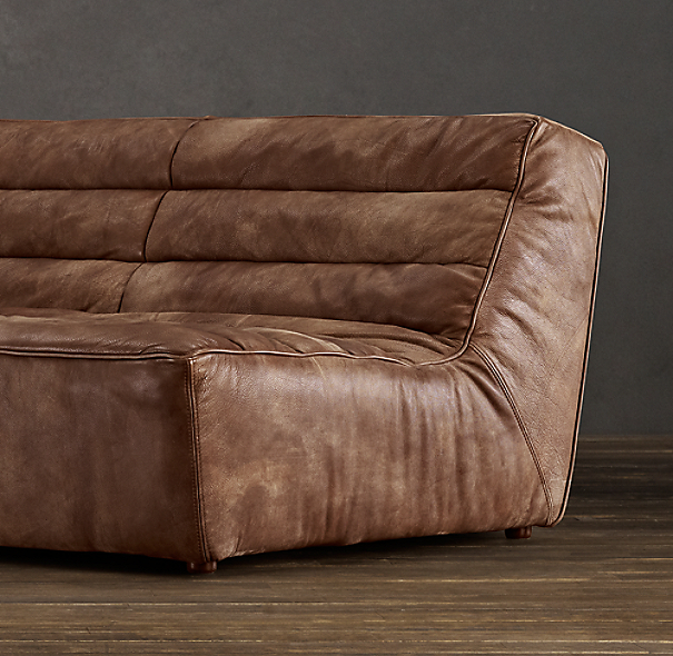 9' Chelsea Leather Sofa