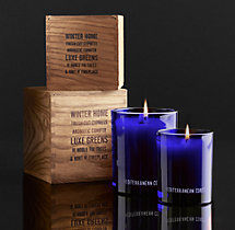 Mediterranean Coast Filled Candle