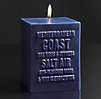 Mediterranean Coast Pillar Candle