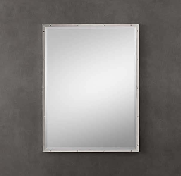 Bistro Polished Nickel Mirrors