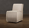 Bruno Upholstered Dining Chair Narrow
