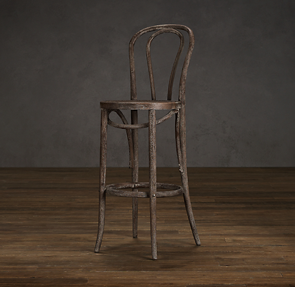 French Café Counter Stool