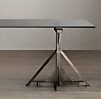 Industrial Assembly Line Dining Table