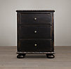 "24"" French Empire Nightstand (Set of 2 Closed)"