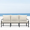 "75"" Carmel Luxe Sofa Weathered Zinc"