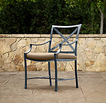 Carmel Armchair Weathered Zinc
