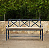 Carmel Luxe Bench Weathered Zinc