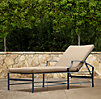 Carmel Chaise Weathered Zinc