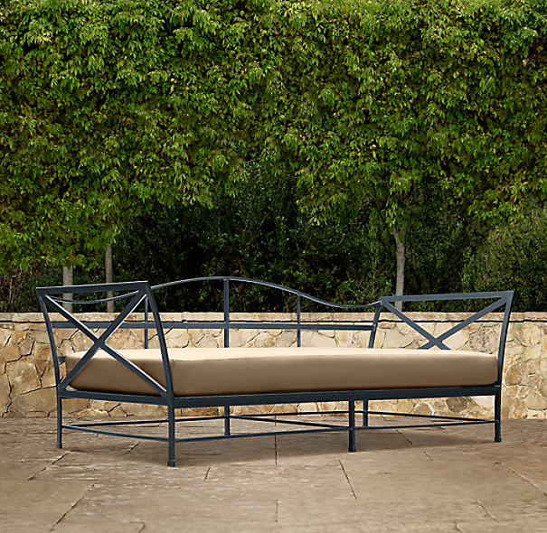 Carmel Luxe Daybed Weathered Zinc