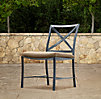 Carmel Side Chair Weathered Zinc
