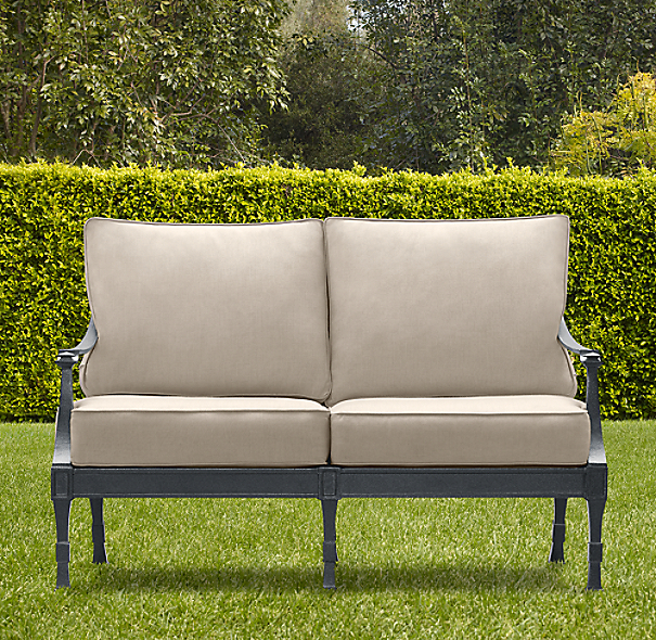 "54"" Antibes Sofa Weathered Zinc"