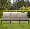 "75"" Antibes Sofa Weathered Zinc"