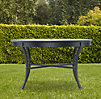 Antibes Round Dining Table Weathered Zinc