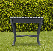 Antibes Side Table Weathered Zinc