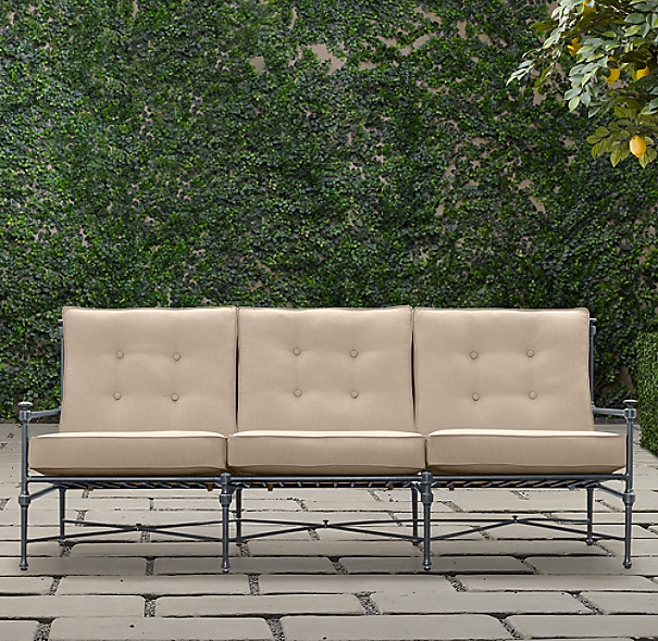 "77"" Catalina Sofa Weathered Zinc"